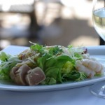 Seafood salad, C Restaurant, Tim Pawsey photo