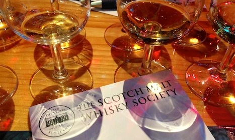 Single Malt, Single Cask—a tasting with a difference, TP photo