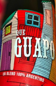 "Que Guapo - it means ""You"