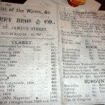 UK Wine Merchants Berry Bros. & Rudd 1896 price list  TimPawsey photo