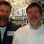 The Fish Counter's Mike McDermid (l) and Robert Clark are fully committed to sustainable seafood
