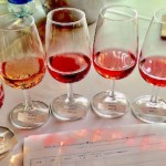 The rosé flight. Every home should have one!